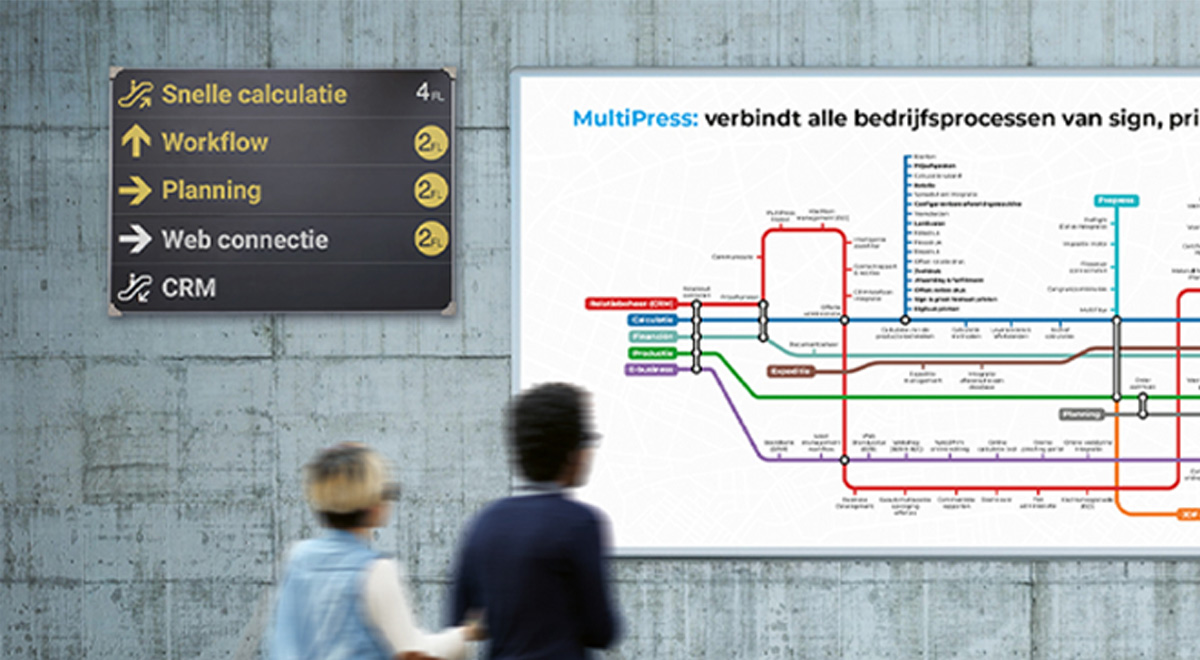 multipress metro map