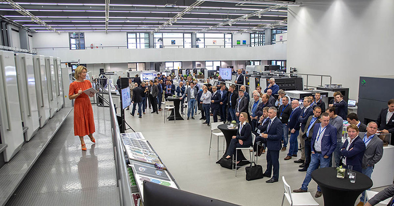 MultiPress connects with Komori