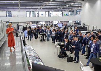 MultiPress connecteert met Komori